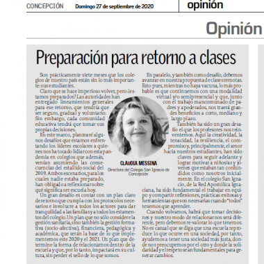 Nota Claudia Messina