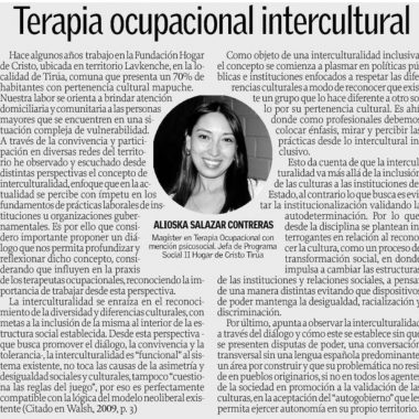 Terapia ocupacional intercultural